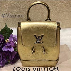 ❤️ Louis Vuitton - Lockme Leather Backpack Mini
